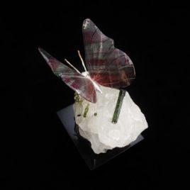 Schmetterling aus Fluorit